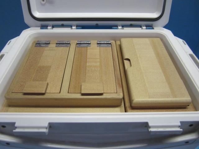 45Sというのは保存エサ箱の外寸の深さが45mmという意味です。