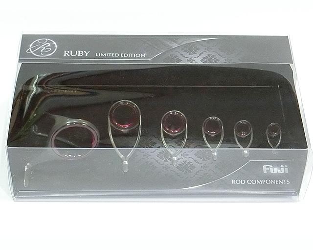 RUBY-Ring(ルビーリング)RVスペック投げ用7ガイドセット T2-RVRG3061の実際の製品です。