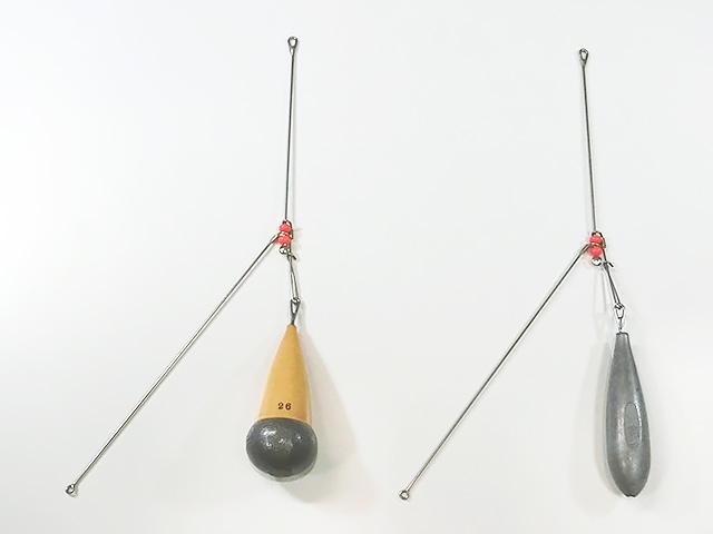 爆釣天秤1標準+根木式26号と新素材25号