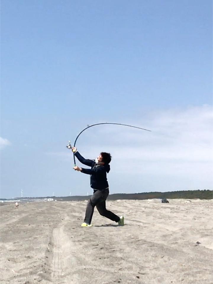 小島様2016スピンパワーSC405AX(ムク30号)決定的瞬間!!